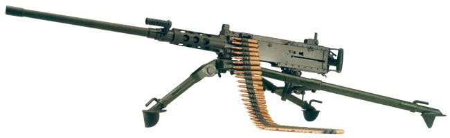 Heavy Machine Gun M2 50-cal