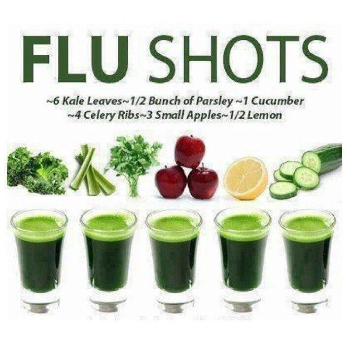 Organic Flu Shot Recipe