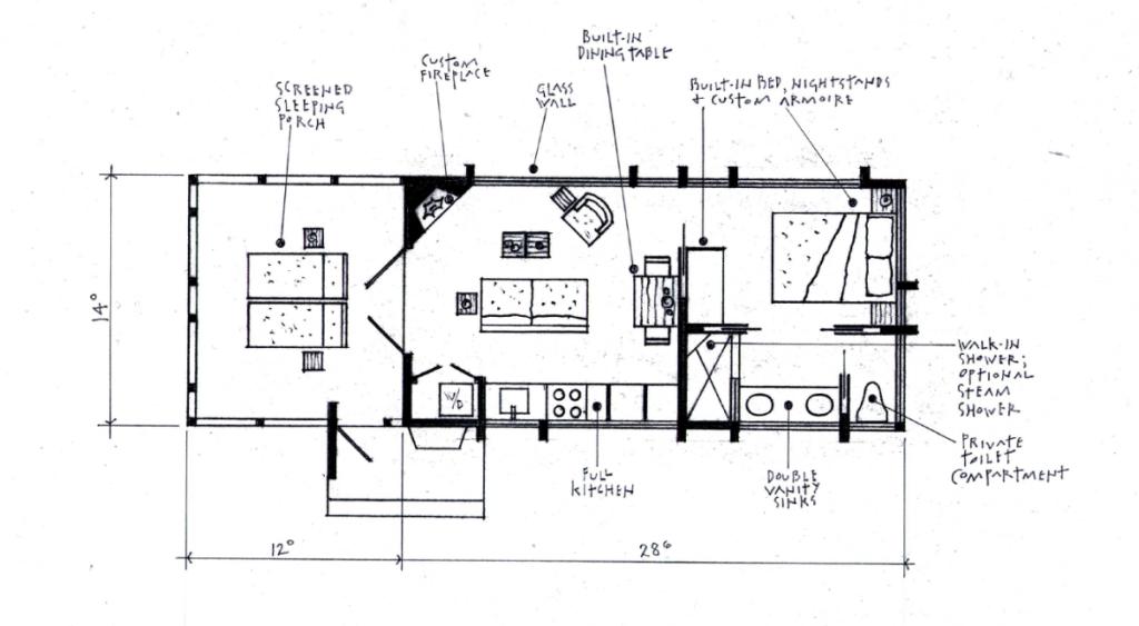 ESCAPE Cabin Limited Floor Plan