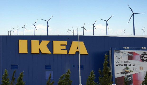 Ikea Off Grid with Wind Farm