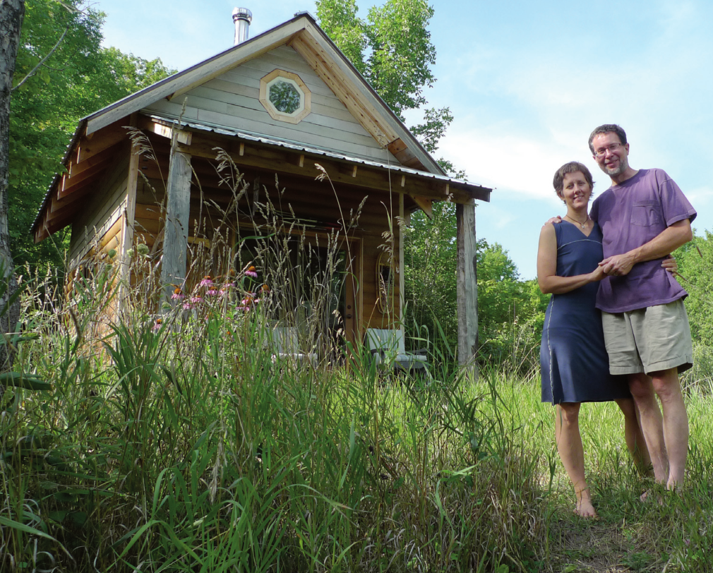 Former Tiny Home Owners Rolf And Mari Von Walthausen