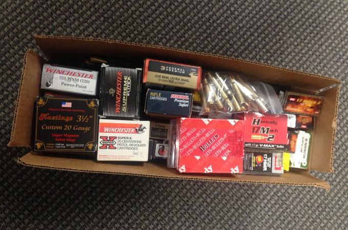 Box of Bulk Ammunition