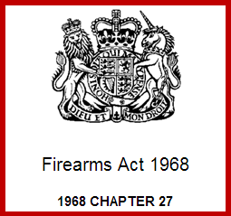 UK Law on Weapons Crest