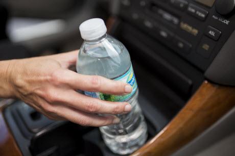 Image of Plastic Water Bottle